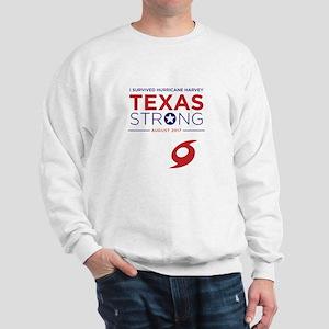 Texas Strong - I survived hurricane Har Sweatshirt