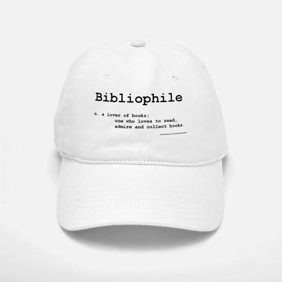 Bibliophile Definition Baseball Baseball Cap