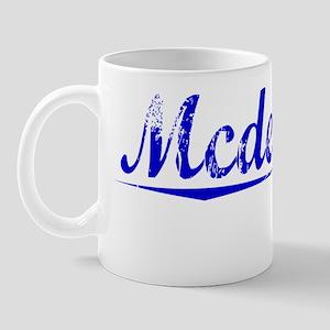 Mcdermott, Blue, Aged Mug