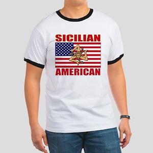sicilian american a(blk) Ringer T