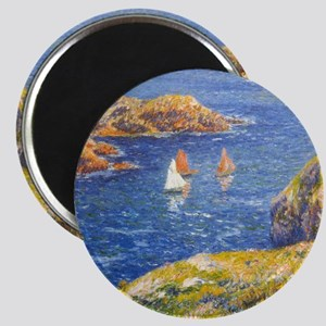 Claude Monet Calm Sea Magnet