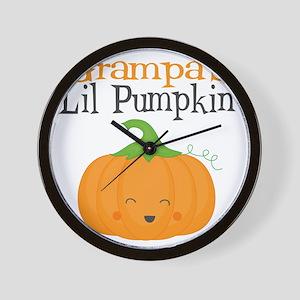 Grampas Little Pumpkin Wall Clock