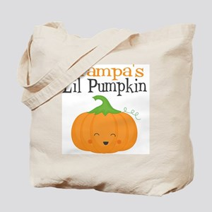 Grampas Little Pumpkin Tote Bag