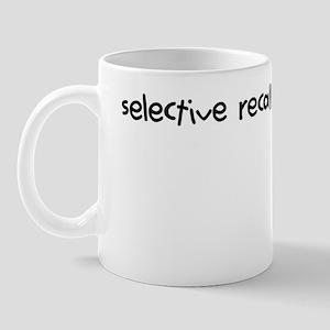 selective recall cures depression Mug