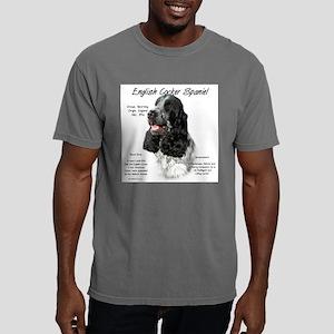 English Cocker (parti) Mens Comfort Colors Shirt