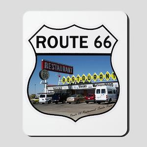 Route 66 Restaurant - Santa Rosa, NM Mousepad