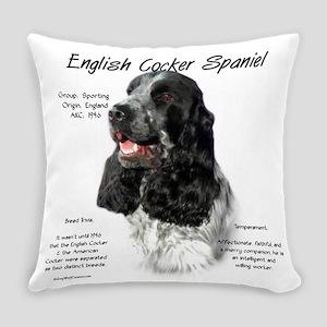 English Cocker (parti) Everyday Pillow