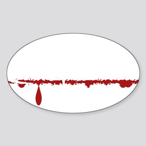 Chemical Engineer Zombie Sticker (Oval)