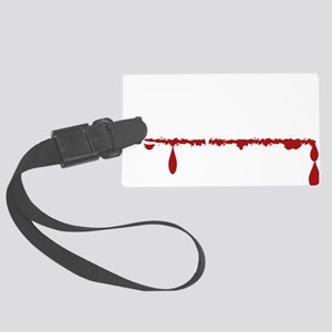 Chemical Engineer Zombie Large Luggage Tag