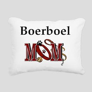 Boerboel Mom Rectangular Canvas Pillow