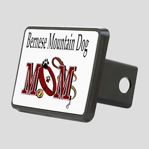 Bernese Mtn Dog Mom Rectangular Hitch Cover
