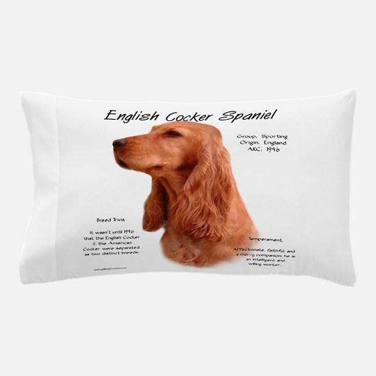 English Cocker (red) Pillow Case