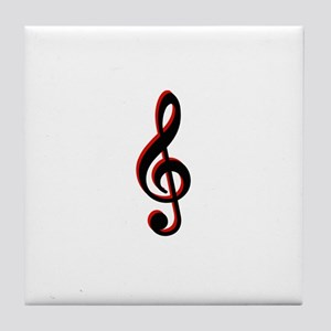 Music Note Tile Coaster