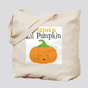 Papas Little Pumpkin Tote Bag
