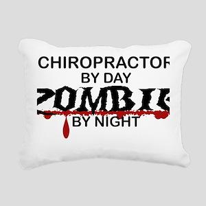 Chiropractor Zombie Rectangular Canvas Pillow