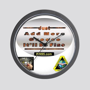 Add more greese itll be fine Wall Clock