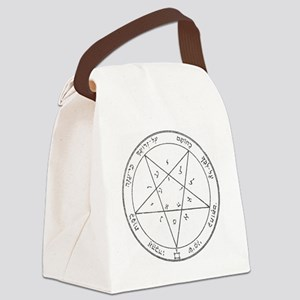 Solomon Pentacle Canvas Lunch Bag