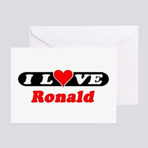 I Love Ronald Greeting Cards (Pk of 10)