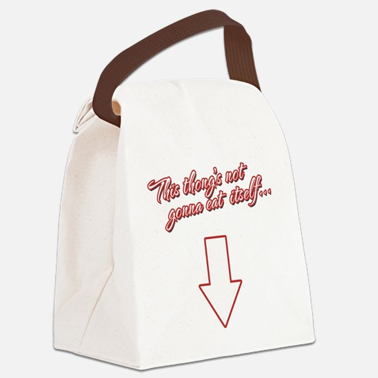 Dirty Humor Canvas Lunch Bag