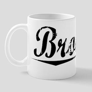 Brooker, Vintage Mug