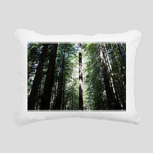 Sacred Redwood Rectangular Canvas Pillow