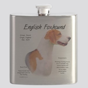 English Foxhound Flask