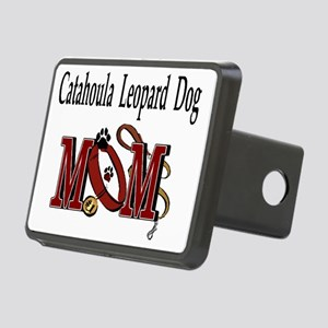 Catahoula Leopard Dog Mom Rectangular Hitch Cover