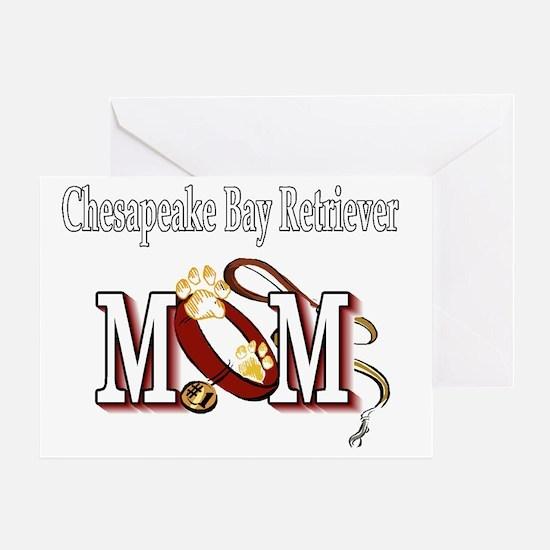 Chesapeake Bay Retriever Mom Greeting Card