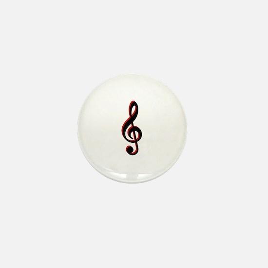 Music Note Mini Button