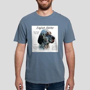 English Setter Mens Comfort Colors Shirt