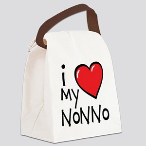 I Love My Nonno Canvas Lunch Bag