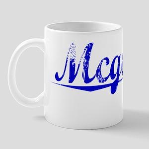 Mcgowan, Blue, Aged Mug