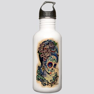 Marie Muertos shower c Stainless Water Bottle 1.0L