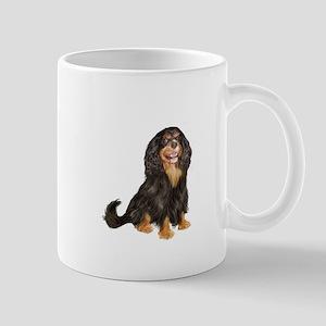 Cavalier (blk-tan) Mug