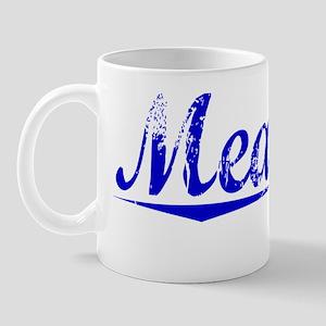 Meagher, Blue, Aged Mug
