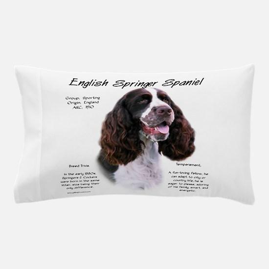 English Springer (liver) Pillow Case