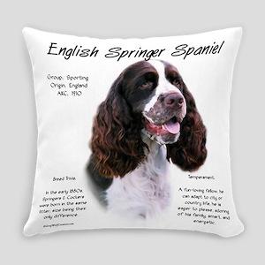 English Springer (liver) Everyday Pillow