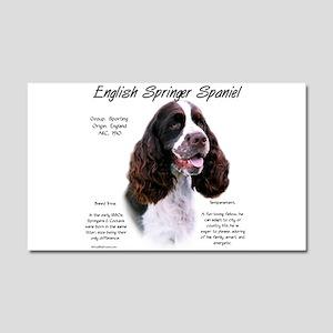 English Springer (liver) Car Magnet 20 x 12
