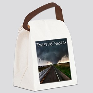 TwisterChasers Tornado Canvas Lunch Bag