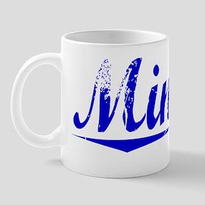 Minard, Blue, Aged Mug