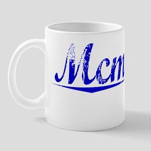 Mcmanus, Blue, Aged Mug