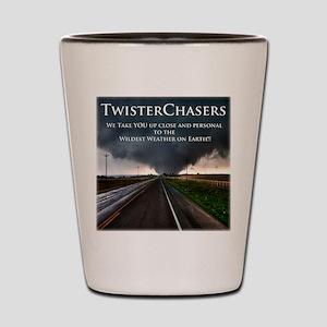 TwisterChasers Back Shot Glass