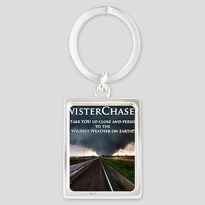 TwisterChasers Back Portrait Keychain