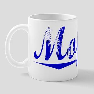 Moffett, Blue, Aged Mug