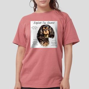 English Toy (king char Womens Comfort Colors Shirt