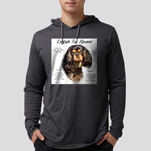 English Toy (king charles) Mens Hooded Shirt