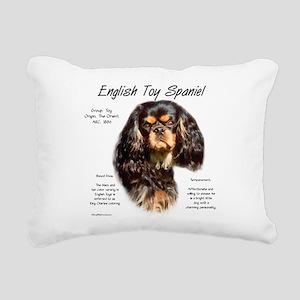 English Toy (king charle Rectangular Canvas Pillow