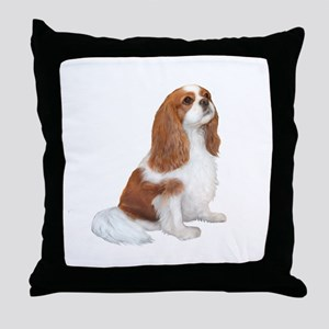 Cavalier (blenheim A) Throw Pillow