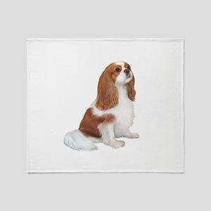 Cavalier (blenheim A) Throw Blanket