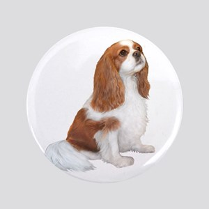 "Cavalier (blenheim A) 3.5"" Button"